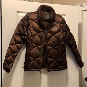 Women's North Face puffer coat
